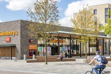 Sainsbury's at Eddington's Market Square
